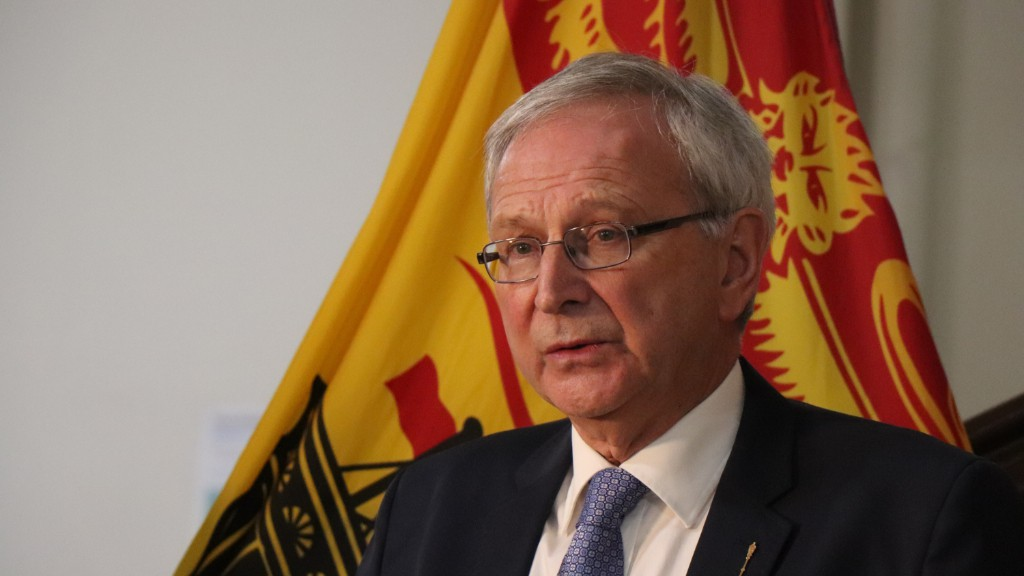 Premier Blaine Higgs has been pressured to bring in an eviction ban.
