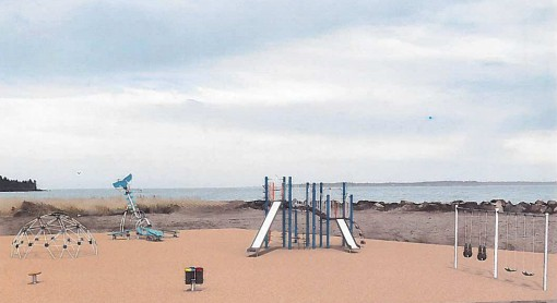 This concept drawing by Jambette and JIL Engineering and Construction shows what the new playground on Grand Manan will look like.