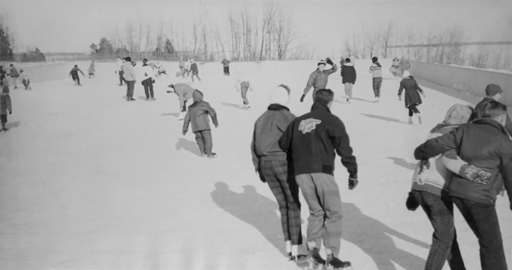 Pictured in this photo from the Bathurst Heritage Museum are people skating at the former Rover rink, which had been located in West Bathurst. The rink used to be located where the Superstore gas bar is now located.