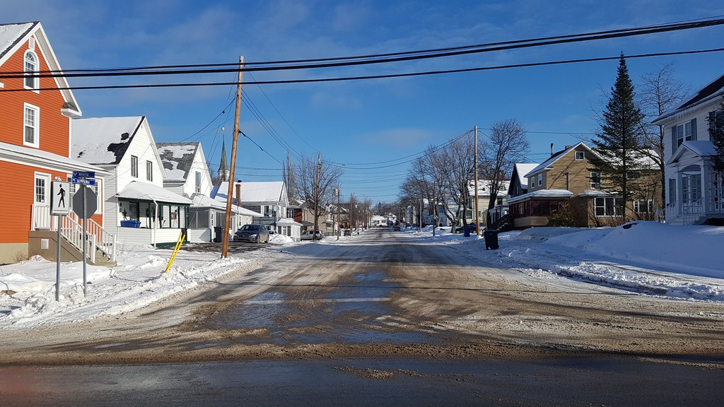 Dufferin Street in Campbellton, seen here looking east from Minto Street, is up next for major infrastructure work, but the city is not sure exactly when it take place. When it does, it will last much of the summer.