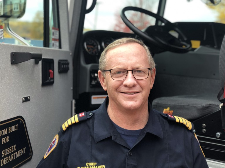 Sussex Fire Department Chief Bill Wanamaker said the number of volunteer firefighters on the force right is at an all-time low, at 32 members.