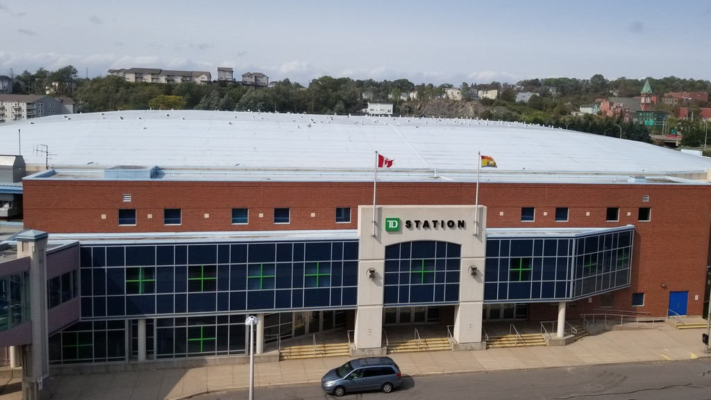 The financial details regarding naming rights to TD Station in Saint John form part of a court case now before a judge.