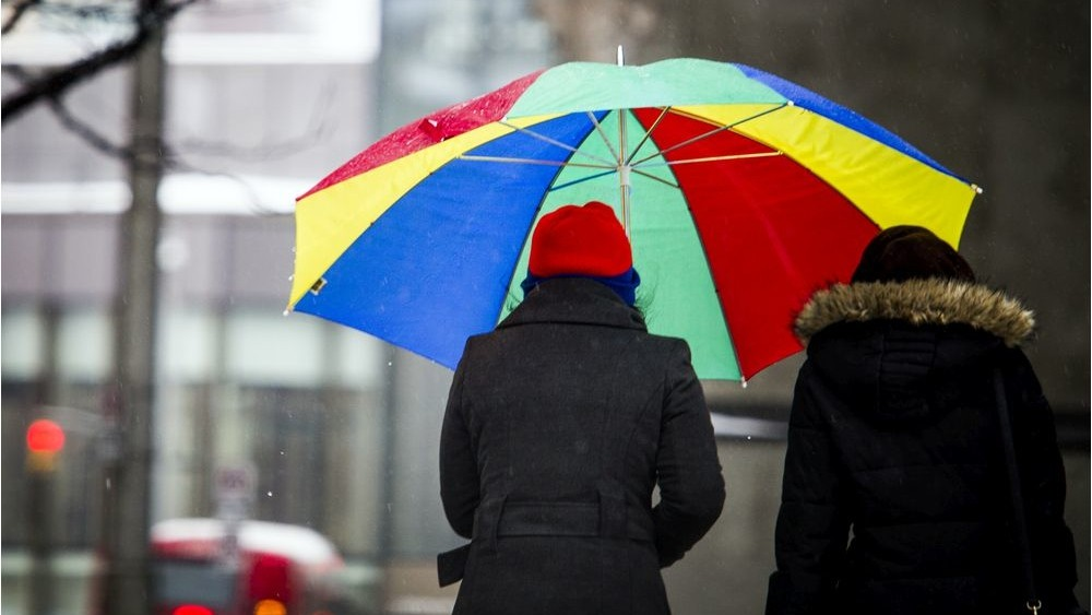 A special weather statement warns 25 millimetres or more of rain could fall on southern parts of the province this weekend.