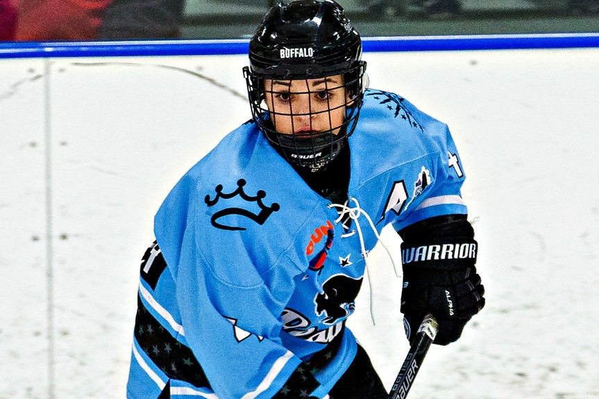 Dalhousie's Marie-Jo Pelletier starts her second season with the Buffalo Beauts of the National Women's Hockey League on Jan. 23.