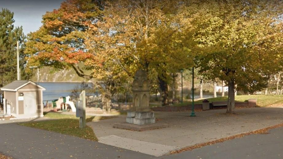 Robertson Square in north end Saint John.