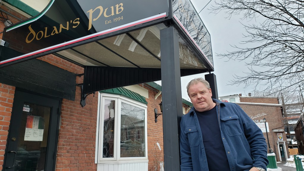 Barry Hughes and the rest of the ownership team at Dolan's Pub in Fredericton decided to keep the business closed during the more restrictive orange phase of the pandemic.