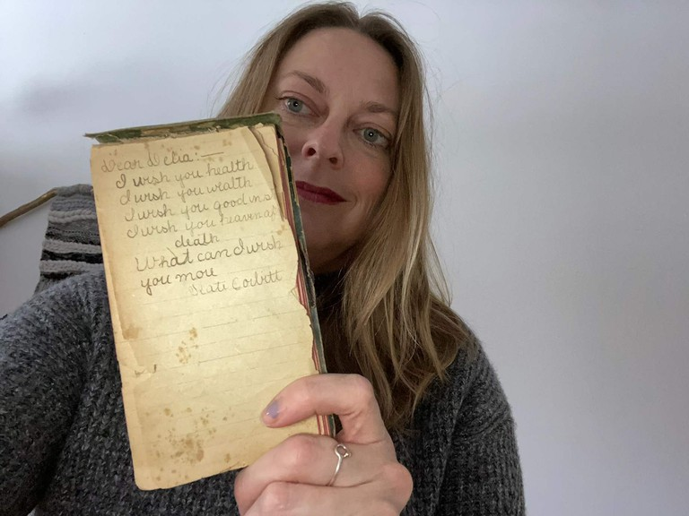 Amy Carpenter Tonning, from Sussex, said an antique dealer she works with from Ontario found an autograph book belonging to a former Millstream resident, Adelia Synder, who lived there in the early 1900s.