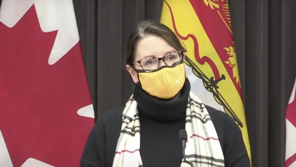 There were no new cases of COVID-19 in Zone 5, eastern Restigouche region,on Sunday, although cases continued to mount elsewhere in the province, chief medical officer of health Dr. Jennifer Russell announced at a press conference on Monday. There are now 34active cases in Zone 5 as of Sunday, down from 35 on Saturday.  Zone 4 will be going into the red phase of COVID-19 recovery at the recommendation of Public Health.As of Sunday, there were 292 active cases in the province.