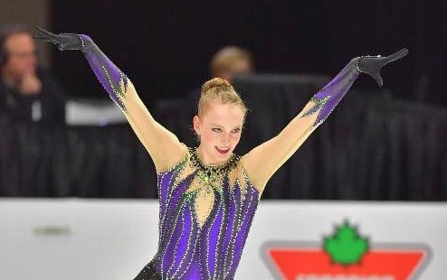 Campbellton's Lissa-Anne McGaghey took part in last weekend's virtual Skate Canada Challenge where she finished 23rd.