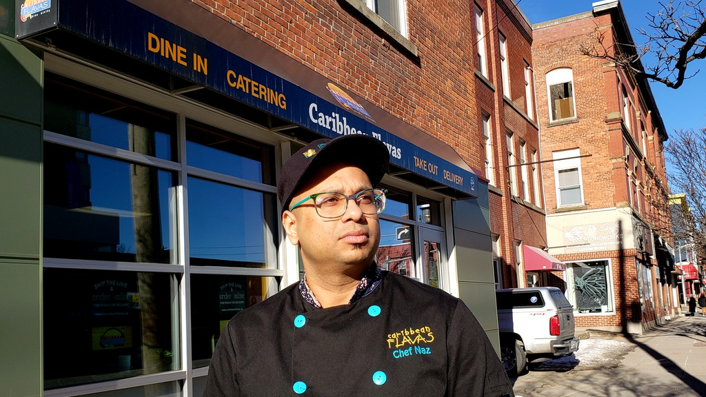 Naz Ali, owner of Caribbean Flavasrestaurant on York Street, said the city's decision Monday to postpone the annual Dine Around Freddy program is unfortunate, and he will still offer a three-course, $35-per-person special even if it is only for takeout and delivery.