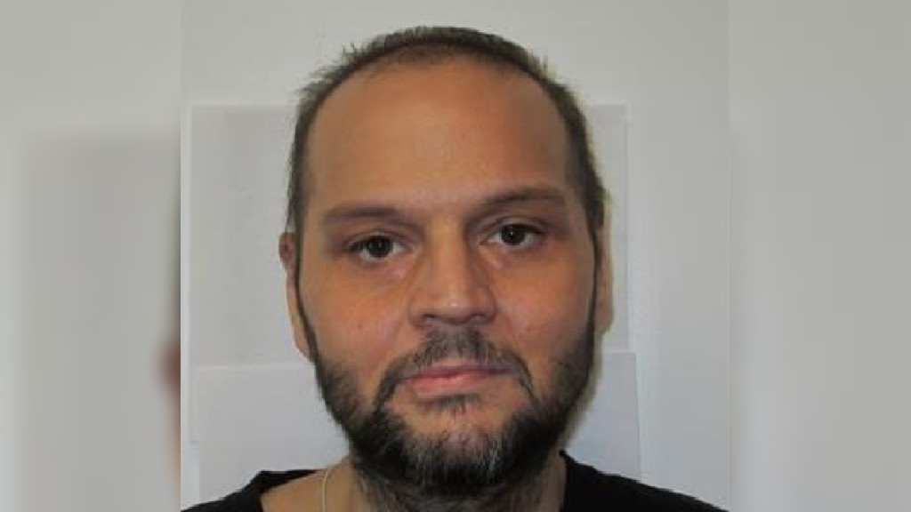 Police are searching for Steven Cyr, who failed to return to his approved residence on Jan. 13.
