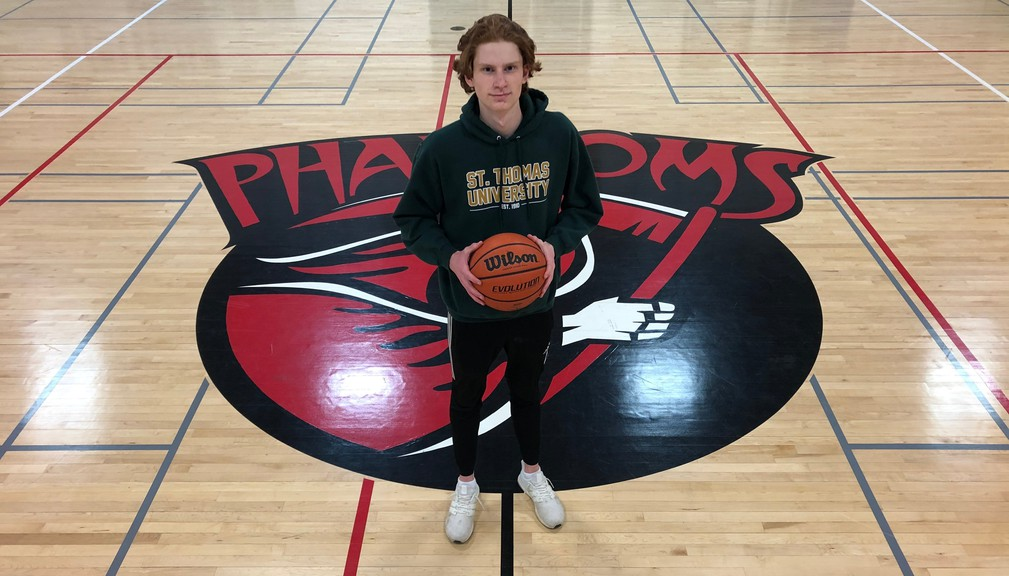 Shamus Cormier, a Grade 12 power forward on the Bathurst High School's boys varsity basketball squad has been recruited by the St. Thomas University Men's Basketball program in Fredericton.