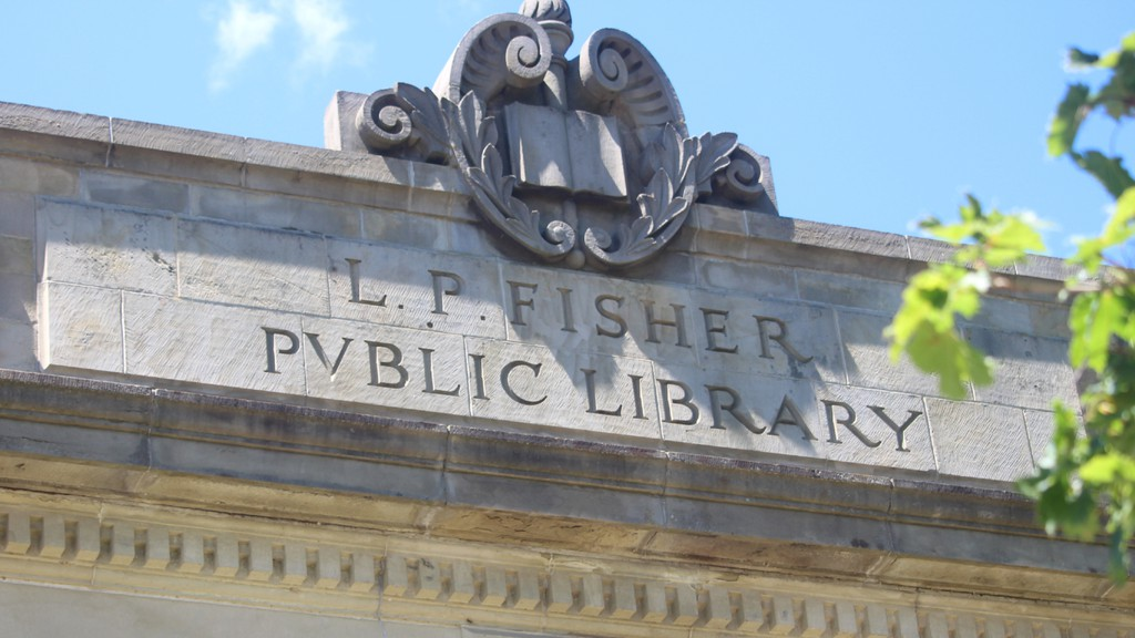 The L.P. Fisher Library in Woodstock will remain open while the region is in the red phase of COVID-19 regulations, with safety measures in place such as contact tracing, screening and masks.