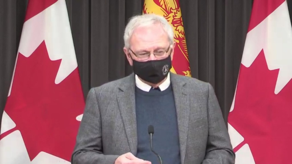 Premier Blaine Higgs said during a Thursday press conference that Zone 4 (Edmundston area) which is already in the red phase of COVID-19 recovery, risks going into a total lockdown as COVID-19 cases there mount. Zone 5 (eastern Restigouche area) is in the orange phase and had 26 active cases as of Thursday.