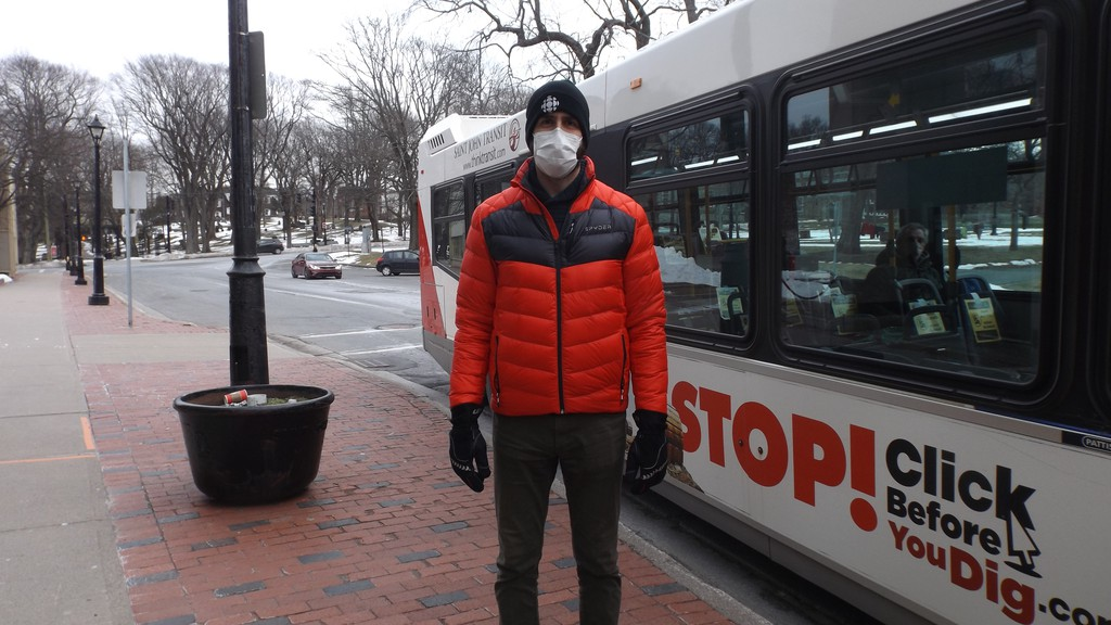 Luke Tudor, who takes the bus to work a few timers a week, said his Thursday morning commute had three more passengers than the nine-passenger limit for the red phase.