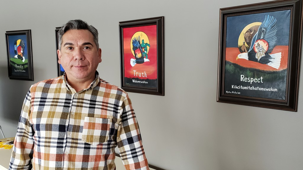 St. Mary's First Nation Chief Allan Polchies wants the Fredericton Police Force to enforce his community's bylaws.