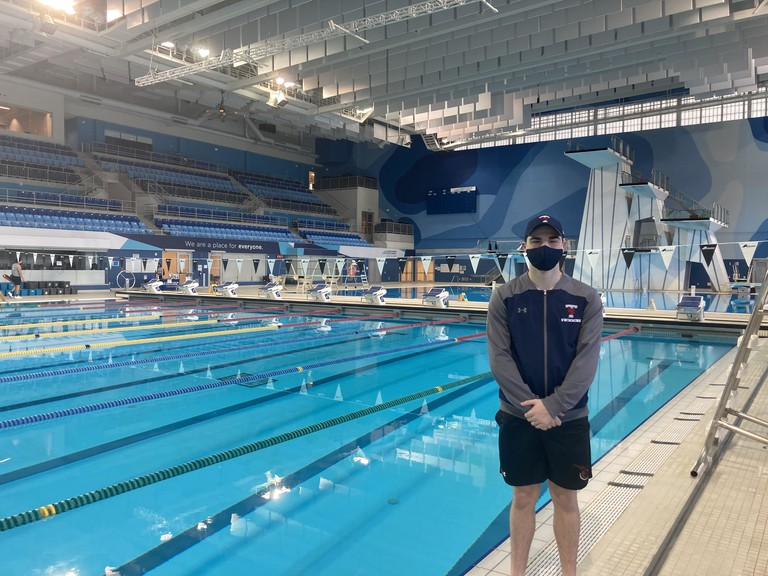 Jacob Gallant, formerly of the FAST swim club and now attending the University of Toronto, will attend Swimming Canada team trials in May, attempting to qualify for Canada's Olympic team.