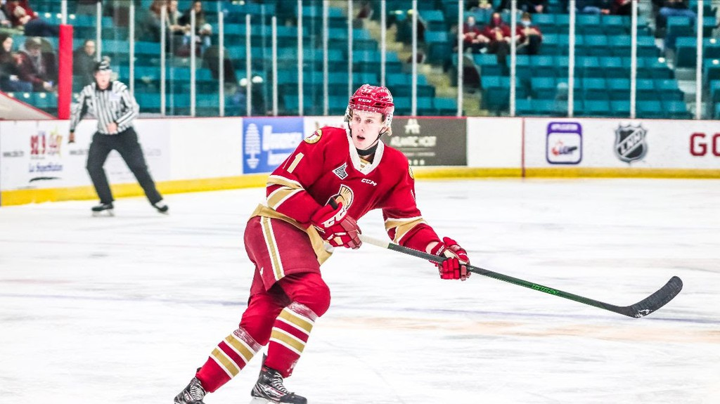 Mark Rumsey, a left-winger with the Acadie-Bathurst Titan, has been traded to Chicoutimi, said Titan General Manager Sylvain Couturier in a press release Monday morning.