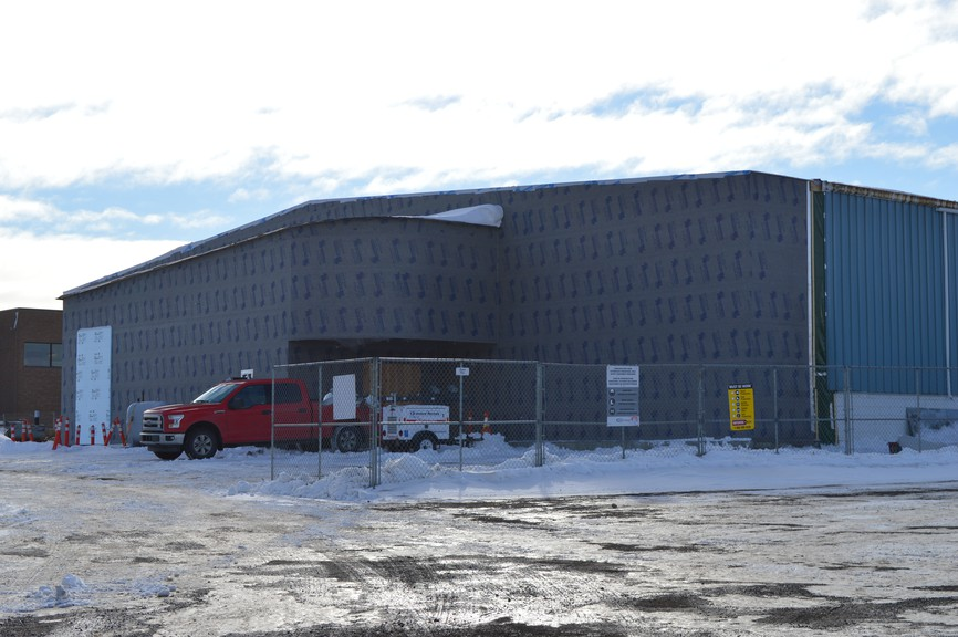 The Petit-Rocher Arena will undergo a roughly $3-million renovation this winter.