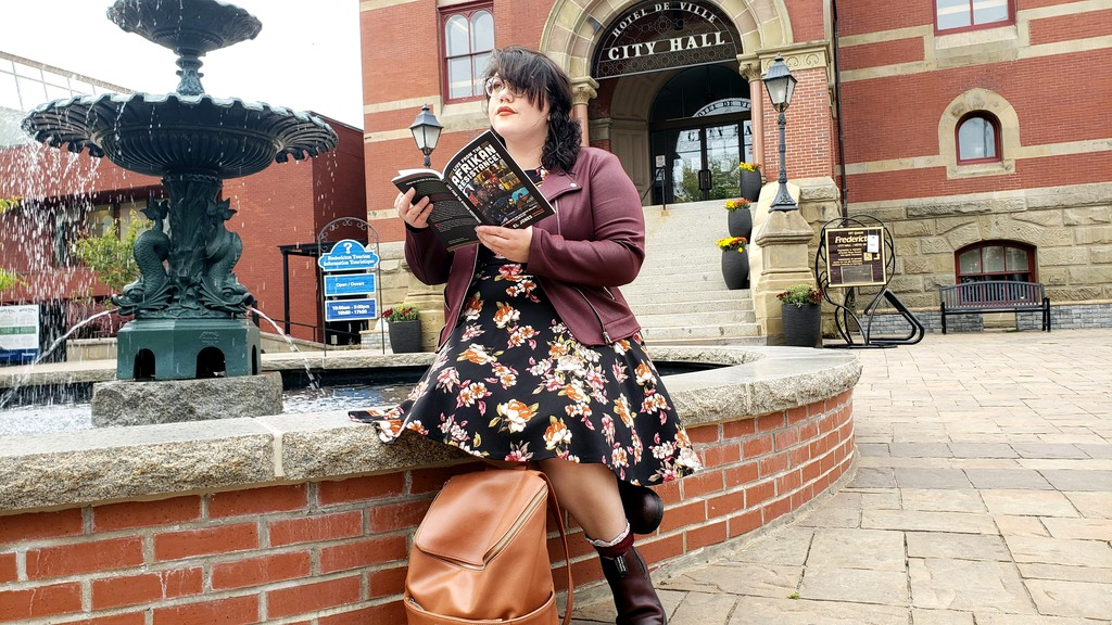 Fredericton city council is going back to the drawing board when it comes to rewriting the rules for the municipality's poet laureate. Monday night was also the final council reading by Fredericton poet laureate Jenna Lyn Albert, seen here in a file photo.