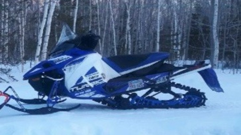 The Sunny Corner RCMP is asking for the public's help to find a stolen blue and white 2027 Yamaha Sidewinder LTX-LE snowmobile.