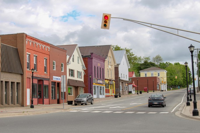 Downtown St. Stephen is pictured in this file photo.