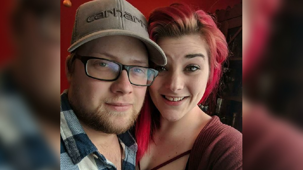 Corey Agnew, left, is pictured with Brooke Gabel in this May 2018 photo from Facebook. Agnew was convicted of repeated, brutal assaults on Gabel while they were a couple.