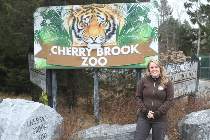 Martha McDevitt, the former director of the Cherry Brook Zoo, is pictured here in this file photo. A lead proponent has been identified to take over the operation of the former Cherry Brook Zoo property.