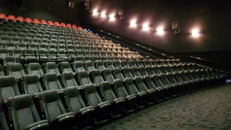 A Cineplex movie theatre.