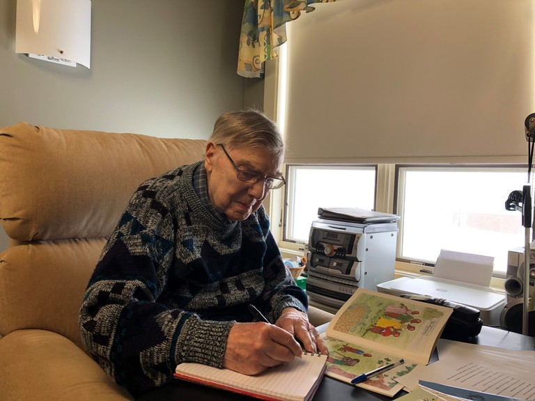 Don Brewster, who has self-published two books in the past, has several manuscripts and short stories written that the soon-to-be 95-year-old would like to see published.