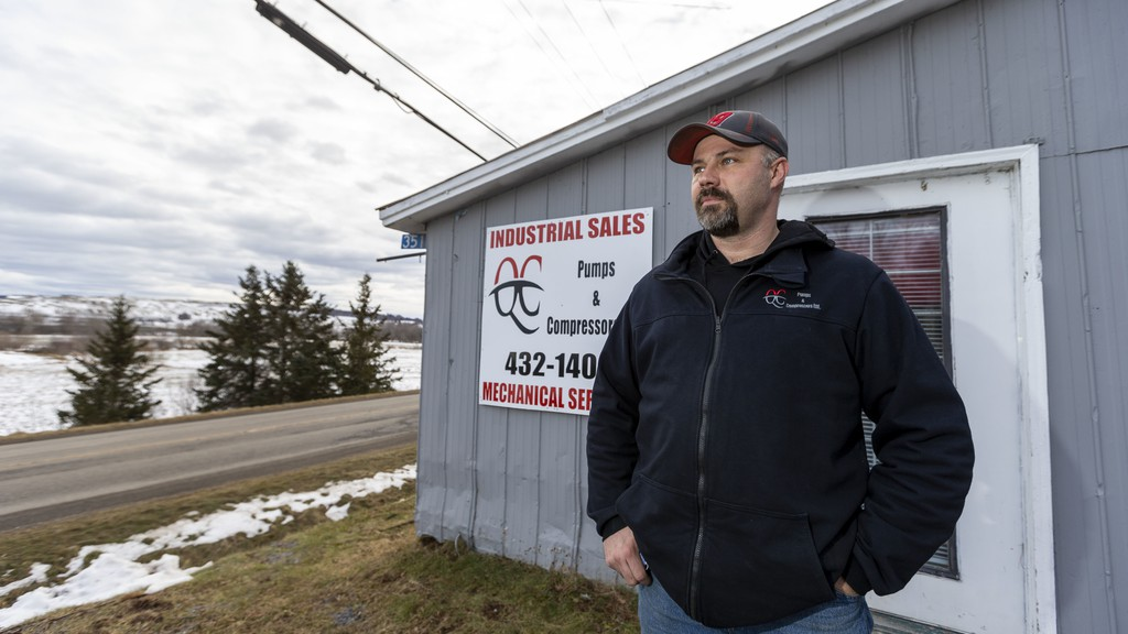 Paul Bedford, president of the Sussex and District Chamber of Commerce and co-owner of QC Pumps & Compressors Ltd., is seen in this Jan. 28, 2021 photo. Bedford said his participation on the Region Eight Resiliency Committee means he is able to his job as the advocate for local businesses as well as possible during the difficult times a pandemic brings.