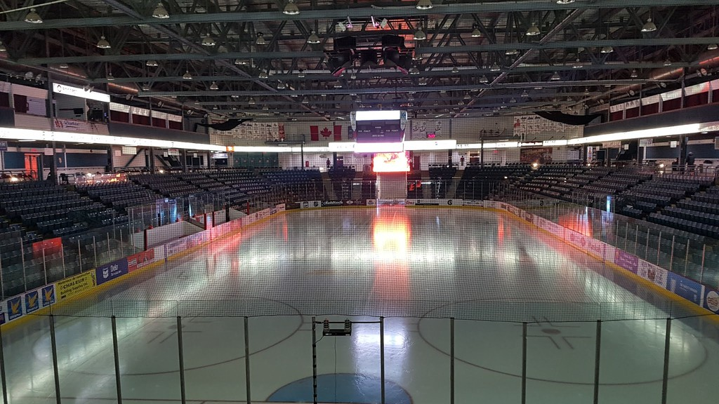 Council has approved upgrades to the curved acrylic glass on the K.C. Irving Regional Centre's Eddy Rink, the home ice of the Acadie-Bathurst Titan.