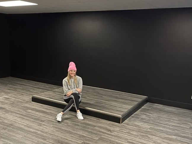 Vanessa McEvoy, owner of Spin North Bathurst, is shown at the new location at 200 St. Anne Street, which will open in March.