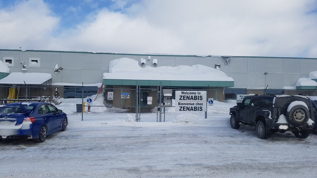Zenabis Global Inc., which operates this cannabis facility in Atholville, will be taken over by another licensed producer, HEXO Corp. of Gatineau, Quebec, subject to shareholder approval. Zenabis also owns a facility in Stellarton, Nova Scotia and a greenhouse in Langley, British Columbia.