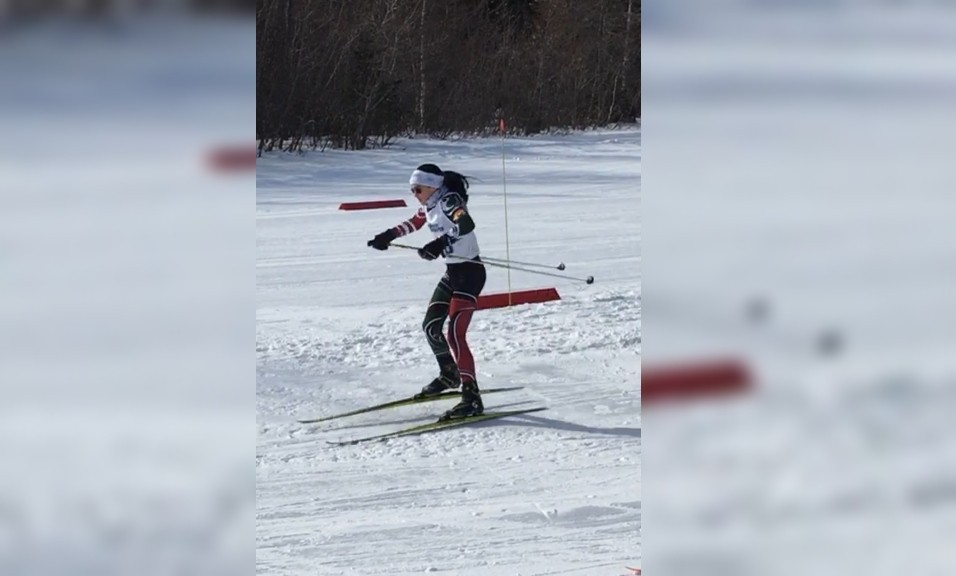 Malika Allain, 13, has been cross-country skiing for years and is a member of the Bathurst Snow Bears Cross Country Ski Club and the Team NB cross-country team.
