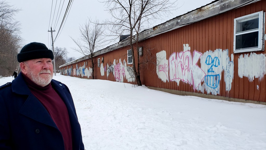 Stephen Marr, vice-president of the Fredericton Trail Coalition, said Monday a $25,000 project to paint a new mural on the horse barns that back onto the walking trail will be done by the fall of 2021.