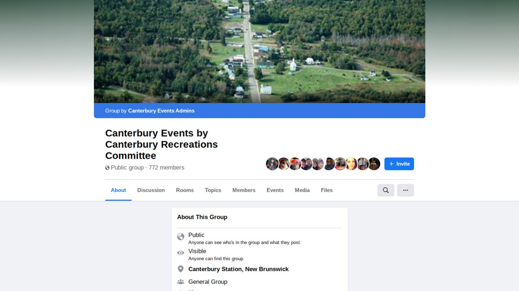 The Canterbury Recreations Committee Facebook page. The village committee has planned a sliding event and snow sculpture/snowmen building contest for next weekend to close out March Break.