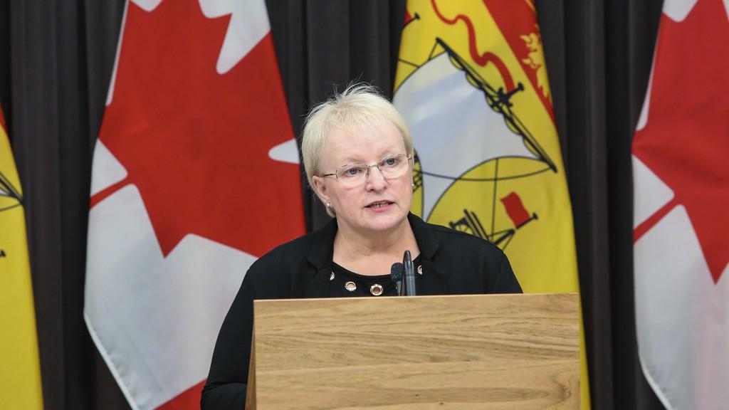 Health Minister Dorothy Shephard.