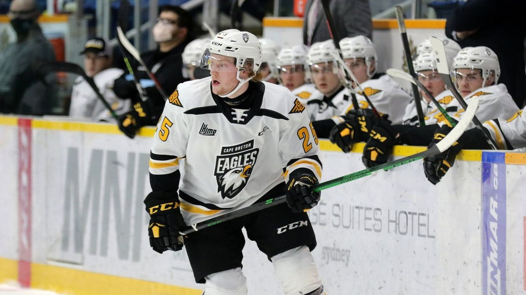 Former Campbellton Junior A Tiger forward Dawson Stairs was traded by the QMJHL's Saint John Sea Dogs to the Cape Breton Screaming Eagles last month where he has collected six goals and five assists in seven games.