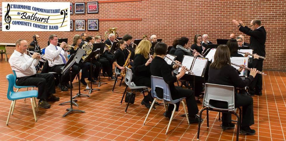 The Bathurst Community Concert Band, pictured here in a past performance, has held their guided practices via Zoom since late-January.