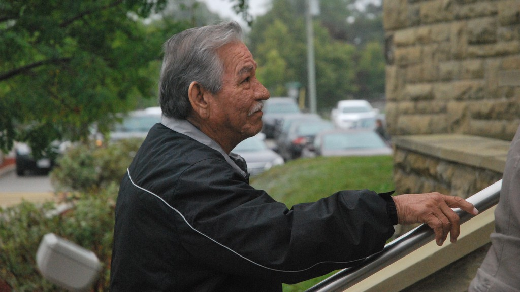 FormerEsgenoôpetitj First Nation Chief Wilbur Dedam is awaiting sentencing after he was found guilty on four counts of sexual assault on Feb. 26.