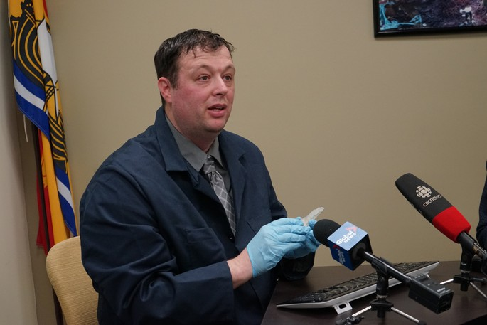 Brent Suttie, executive director with the Department of Tourism, Heritage and Culture's archaeological services branch, is seen in this file photo.