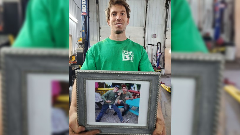 Maurice Savoie lost his friend and skateboarding companion Tyrelle Augustine in 2019. Now he is working to build a  memorial skate park to support young people.