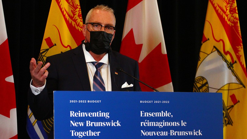 Finance Minister Ernie Steeves's department review has reclassified LPNs, paving the way for the group to leave CUPE for the New Brunswick Nurses Union.