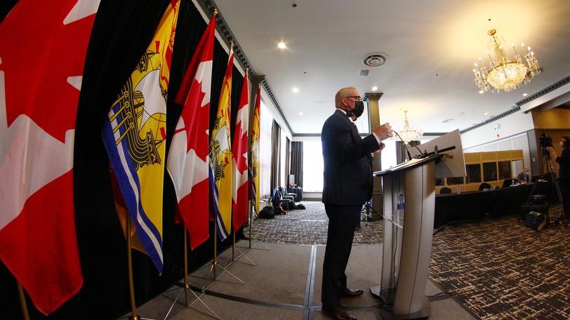 Finance Minister Ernie Steeves