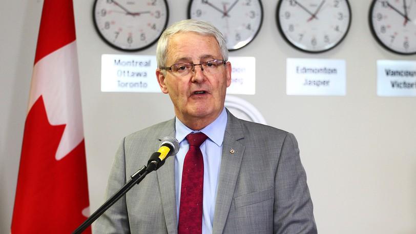 Foreign Affairs Minister Marc Garneau