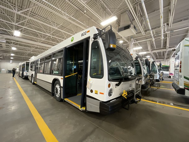 Codiac Transpo buses are shown in this file photo.