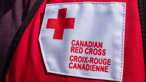 The Canadian Red Cross offered help for two people who were displaced by an apartment fire in St. Stephen Wednesday morning.