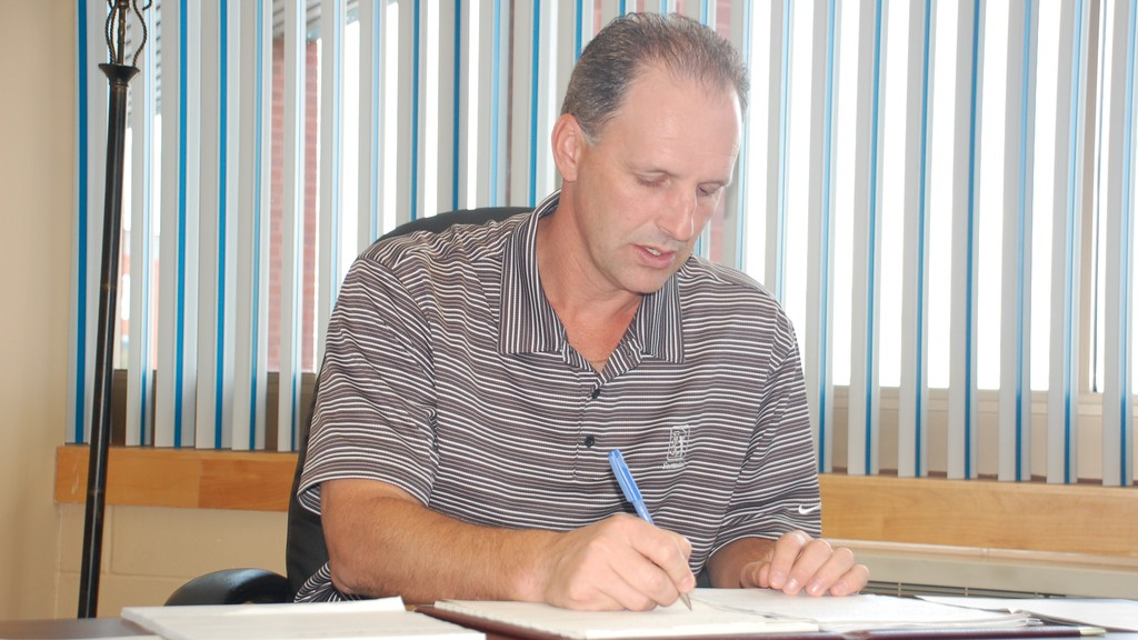 John LeBlanc, who recently retired from his position as arena supervisor at the Campbellton Regional Memorial Civic Centre, is running for a seat on Campbellton city council.