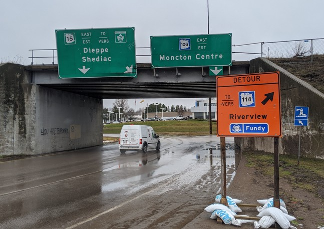 The City of Monctonhas announced that Wheeler Boulevard, between Baig Boulevard and the causeway traffic circle, will be closed to eastbound trafficfrom 7 a.m. Tuesdaytoend of day on Thursday